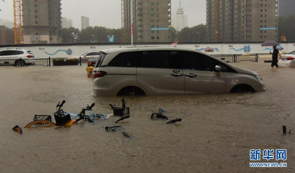 郑州遭遇历史最强降雨已致12人死亡 河南多地发生区域性严重洪涝灾害