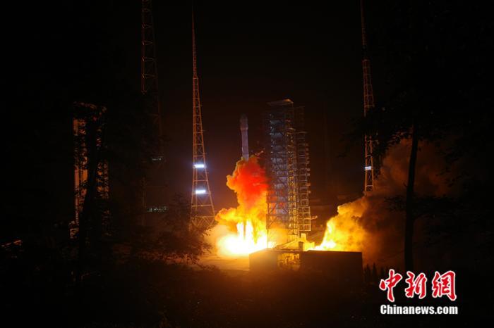 中国成功发射中星2E卫星
